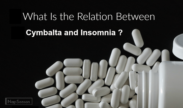 Cymbalta and insomnia header image
