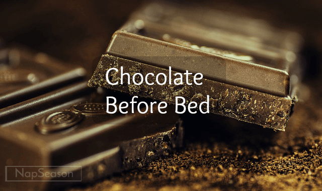 chocolate before bed header image